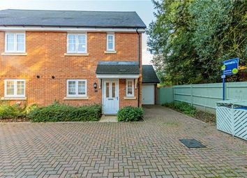 Thumbnail 3 bed semi-detached house for sale in Wey Meadow Close, Farnham, Surrey