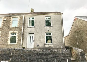 Thumbnail 3 bedroom end terrace house for sale in Taillwyd Road, Neath Abbey, Neath