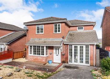 Thumbnail 4 bed detached house for sale in Waunbant Court, Merthyr Tydfil
