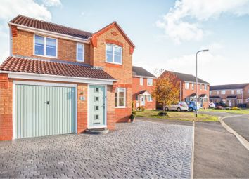 Thumbnail 3 bed detached house for sale in Harrison Close, Branston, Burton-On-Trent