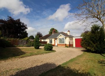 Thumbnail 3 bed bungalow for sale in Brickle Road, Stoke Holy Cross, Norwich