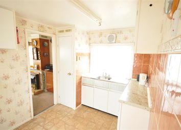 Thumbnail 1 bed mobile/park home for sale in Towngate Wood Park, Tonbridge, Kent