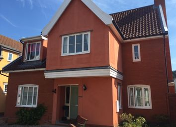 Thumbnail 4 bed detached house to rent in Hereford Drive, Claydon