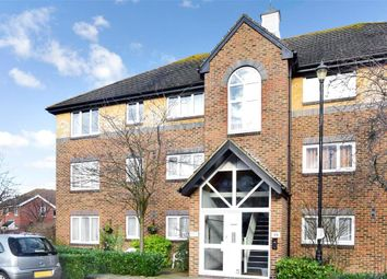 Thumbnail 1 bed flat for sale in Cotswold Way, Worcester Park, Surrey