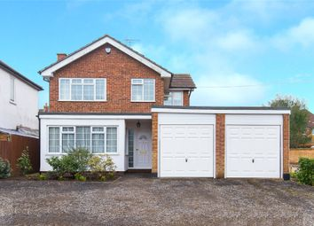 Thumbnail 4 bed detached house for sale in Roman Road, Mountnessing, Brentwood, Essex