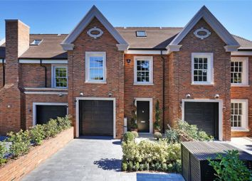 Thumbnail 4 bed terraced house for sale in Cavendish Road, Weybridge, Surrey