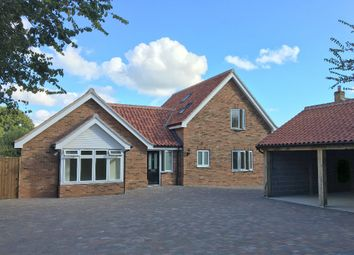 Thumbnail 4 bedroom detached bungalow for sale in Link Lane, Bentley, Suffolk