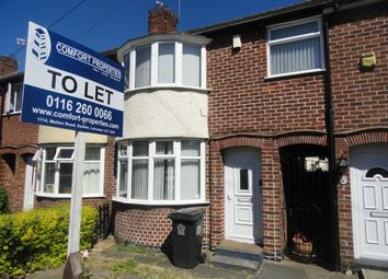 Thumbnail 3 bed terraced house to rent in Abbey Drive, Leicester