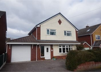 Thumbnail 3 bed detached house for sale in Hollies Drive, Shrewsbury