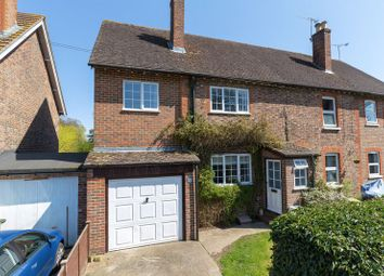 Thumbnail 4 bed semi-detached house for sale in New Town, Copthorne, West Sussex