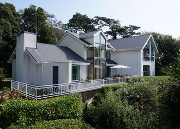 Thumbnail 4 bed detached house for sale in Caswell Road, Caswell, Swansea