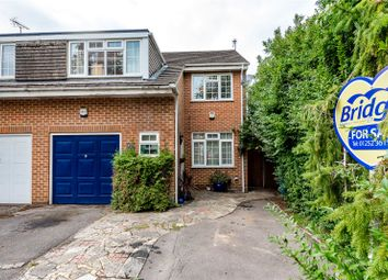 Thumbnail 4 bedroom semi-detached house for sale in Brewers Close, Farnborough, Hampshire