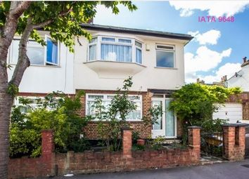 Thumbnail 3 bed end terrace house to rent in Sandringham Road, Thornton Heath
