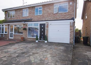 Thumbnail 4 bed semi-detached house for sale in Steeplefield, Leigh-On-Sea