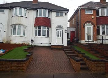 Thumbnail 3 bed semi-detached house for sale in Parkdale Road, Sheldon, Birmingham, West Midlands