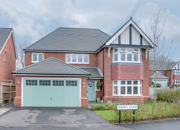 Thumbnail 4 bed detached house for sale in Norris Close, Aston Fields, Bromsgrove