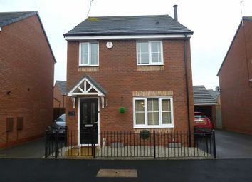 Thumbnail 3 bed detached house for sale in Cygnet Avenue, Penns Croft, Nuneaton