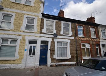 Thumbnail 2 bed terraced house to rent in Treharris Street, Roath, Cardiff