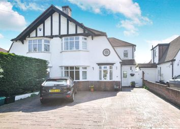 Thumbnail 4 bedroom semi-detached house for sale in Frankswood Avenue, Petts Wood, Orpington
