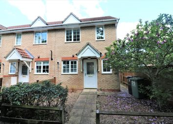 Thumbnail 2 bed end terrace house to rent in Masefield Mews, Dereham