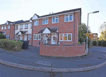 Thumbnail 1 bed end terrace house for sale in Collins Close, Newbury