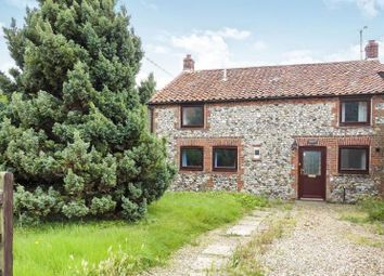 Thumbnail 3 bed semi-detached house for sale in Melrose, Newton Road, Castle Acre, King's Lynn, Norfolk