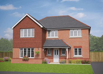 Thumbnail 4 bed detached house for sale in The Llanberis, Plot 39, Middlewich Road, Sandbach, Cheshire