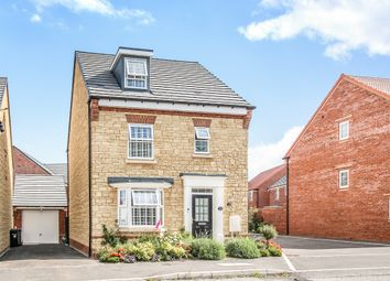 Thumbnail 4 bed detached house for sale in Cheviot Road, Westbury