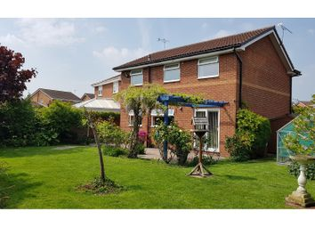 Thumbnail 4 bedroom detached house for sale in Lambourn Drive, Leighton