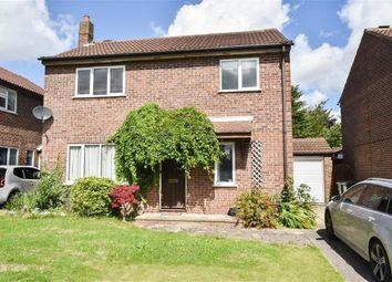 Thumbnail 4 bed detached house for sale in Wilstrop Farm Road, Copmanthorpe, York