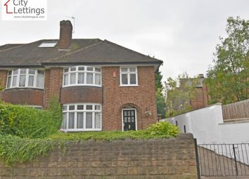 Thumbnail 4 bed semi-detached house to rent in Waverley Street, Nottingham