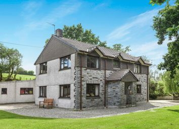 Thumbnail 4 bed detached house for sale in Nanstallon, Bodmin, Cornwall