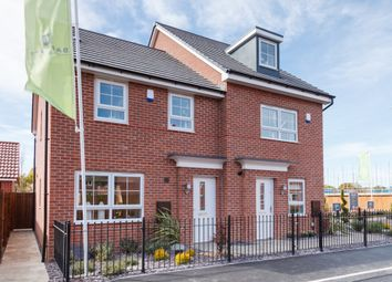 "Thumbnail 3 bed semi-detached house for sale in ""Maidstone"" at Tiber Road, North Hykeham, Lincoln"