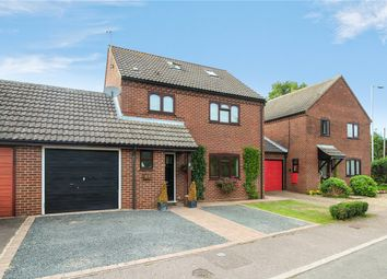 Thumbnail 4 bed link-detached house for sale in Saxonfields, Poringland, Norwich, Norfolk