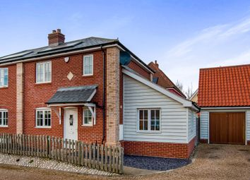 Thumbnail 2 bed semi-detached house for sale in Cherry Tree Close, Wortham, Diss