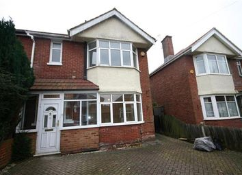 Thumbnail 3 bed semi-detached house to rent in Fawley Road, Southampton