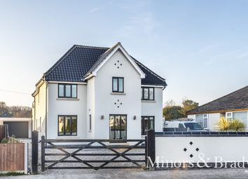 Thumbnail 4 bed detached house for sale in Gorleston Road, Oulton, Lowestoft