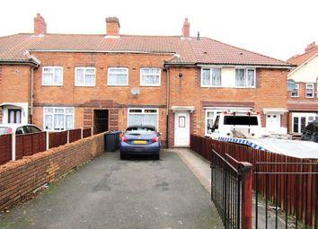 Thumbnail 3 bedroom terraced house for sale in Ward End Road, Ward End, Birmingham