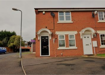 Thumbnail 2 bed end terrace house for sale in Sambourne Drive, Birmingham