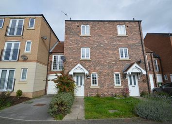 Thumbnail 3 bed town house to rent in Scholars Gate, Garforth, Leeds
