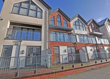 3 bed terraced house for sale in Stunning Riverside Townhouse, Rhosyn Close, Newport NP19