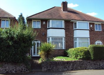 Thumbnail 3 bed semi-detached house to rent in Wheatsheaf Road, Birmingham