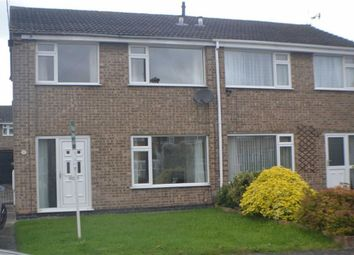 Thumbnail 3 bed semi-detached house to rent in Tedworth Avenue, Stenson Fields, Derby