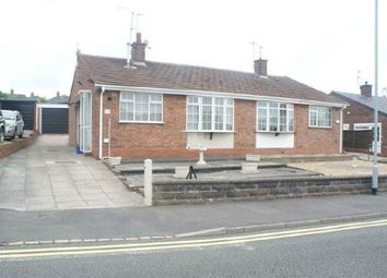 Thumbnail 2 bed semi-detached bungalow for sale in Stubbsfield Road, Newcastle-Under-Lyme