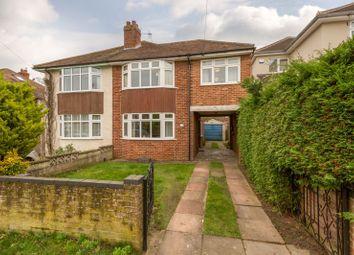 Thumbnail 3 bed semi-detached house for sale in Delbush Avenue, Headington, Oxford