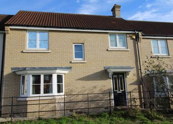 Thumbnail 3 bed terraced house to rent in Woodpecker Way, Great Cambourne, Cambourne, Cambridge