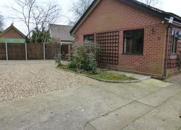 Thumbnail 3 bedroom bungalow to rent in Low Lane, Rockland All Saints, Attleborough
