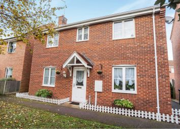 Thumbnail 3 bed detached house for sale in Elder Close, Witham St Hughs
