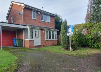Thumbnail 3 bed detached house for sale in Tintern Court, Perton, Wolverhampton