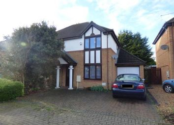 Thumbnail 3 bed semi-detached house for sale in Eelbrook Avenue, Bradwell Common, Milton Keynes